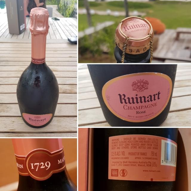 Champagne Ruinart Rose