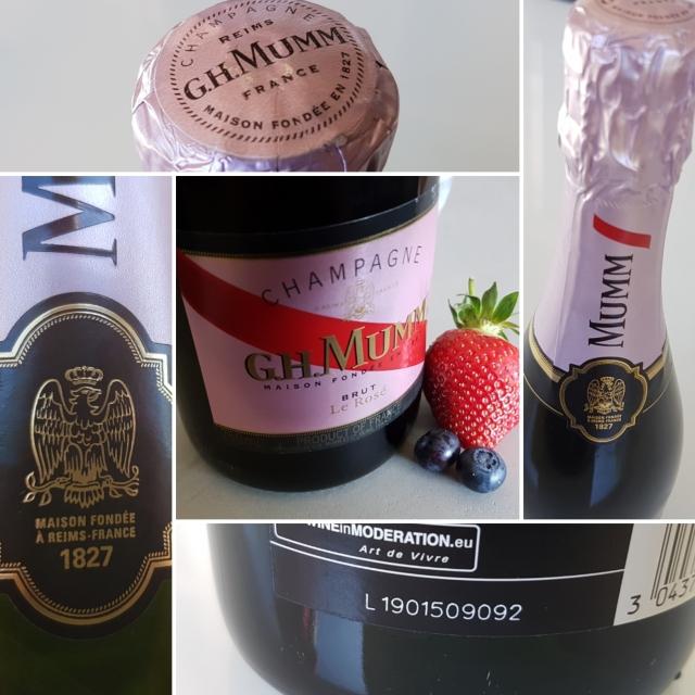 G.H. Mumm Brut Le Rosé Champagne