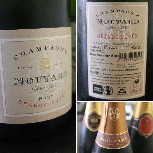 Champagne Moutard Grande Cuvee