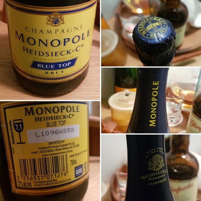 Heidsieck Monopole Blue Top NV champagne