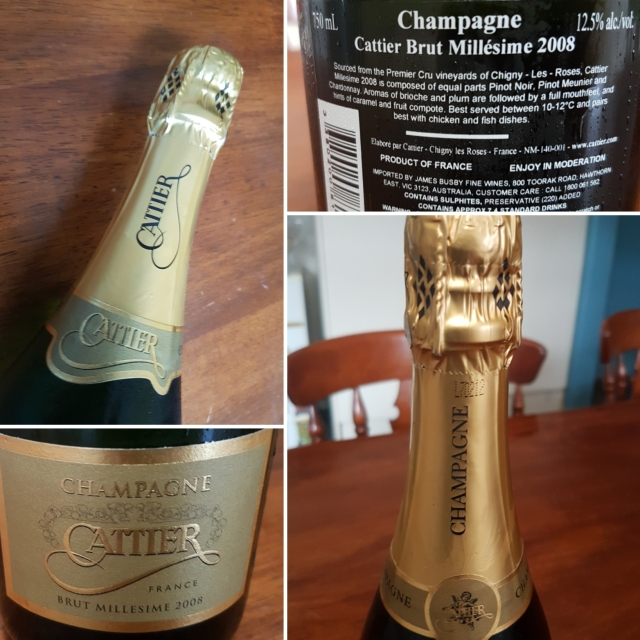 Champagne Cattier Millesime 2008 Vintage