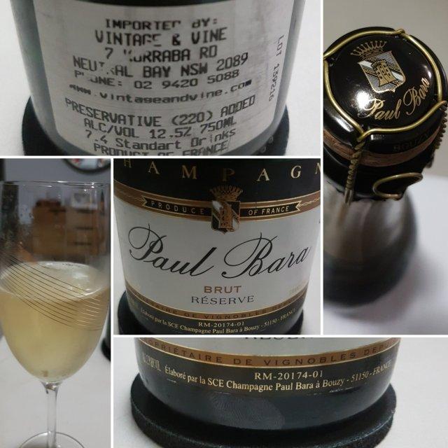 Paul Bara Brut Reserve NV Champagne