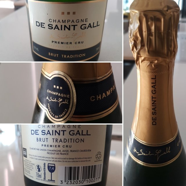 Champagne De Saint Gall Brut Tradition NV