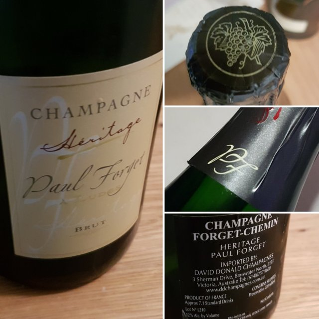 Champagne Forget Chemin Héritage