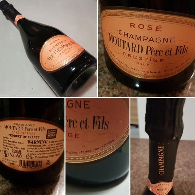 Moutard Champagne Rosé Cuvée Prestige
