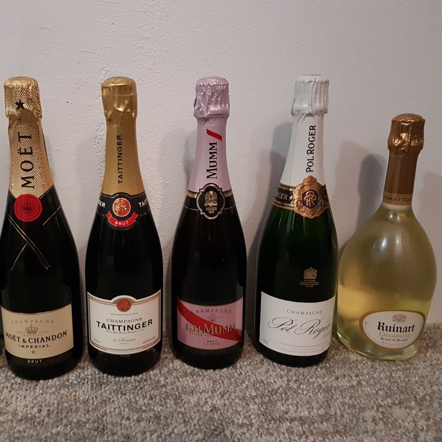 Christmas Cheat Sheet Champagne