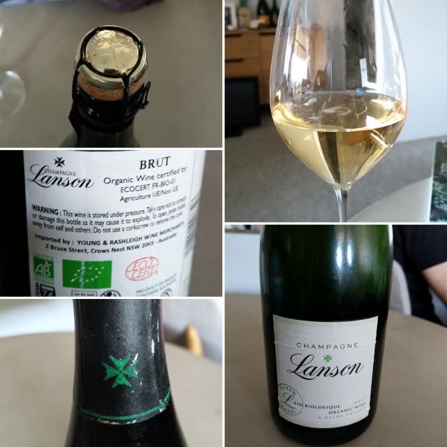 Lanson Green Label Organic Brut NV Champagne