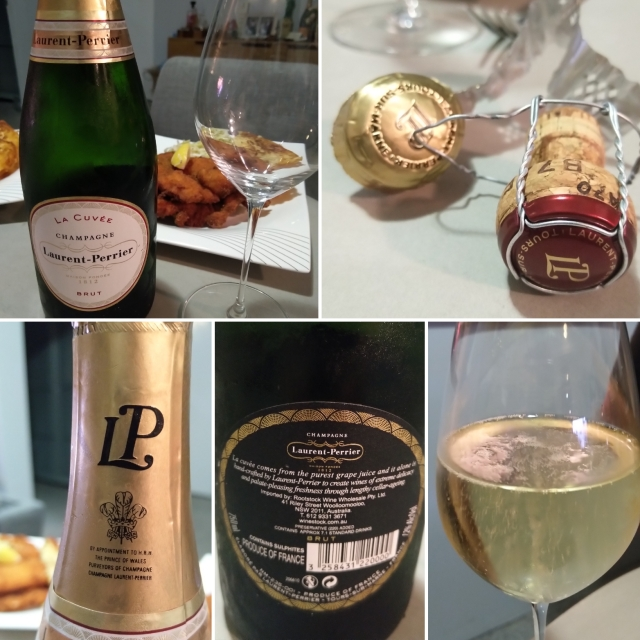 IMG_20181212_142Laurent Perrier La Cuvée Brut NV